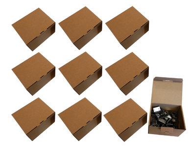 10 Dozen Merkloze RVS Voegklemmen per doos a 100 stuks